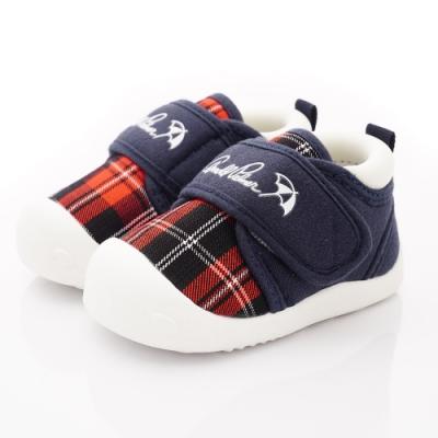 雨傘牌 超輕量學院風學步鞋款 EI93203紅(寶寶段)