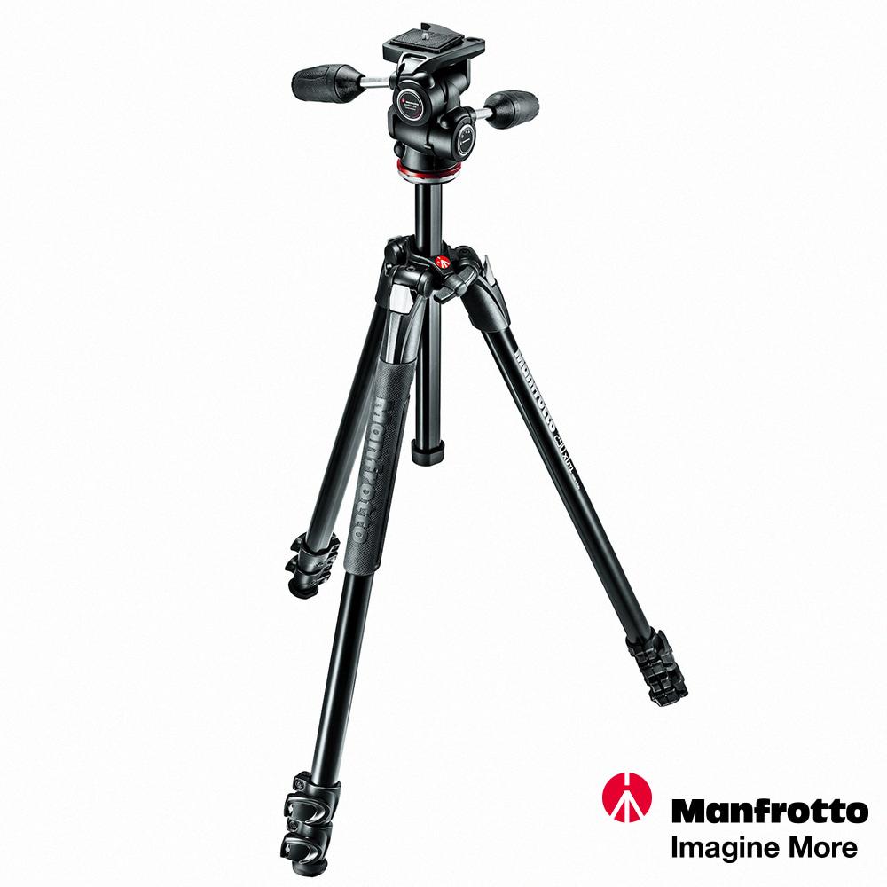 Manfrotto MK290XTA3-3W EXTRA進階三節腳架+三向雲台套組