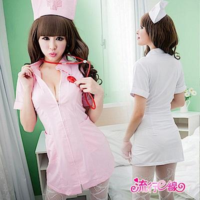 大尺碼XL護士服 角色扮演cosplay護士裝短袖洋裝表演服 流行E線