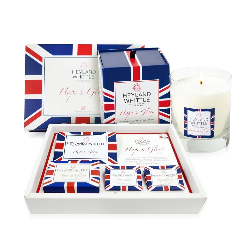 【時時樂】H&W英倫薇朵  英倫禮讚禮盒超值組