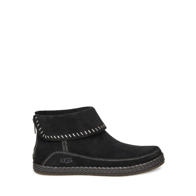 UGG短靴 Varney皮革編織短靴