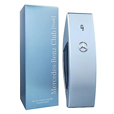 Mercedes Benz賓士 自由藍調男性淡香水100ml