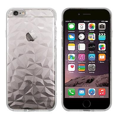 Metal-Slim Apple iPhone 6/6s Plus 鑽石透明TPU保護殼
