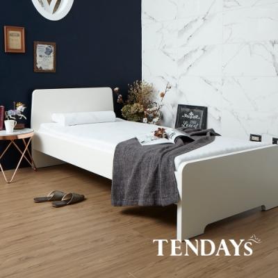 TENDAYS DISCOVERY 柔眠床墊(晨曦白) 3.5尺加大單人 5.5cm厚-買床送枕
