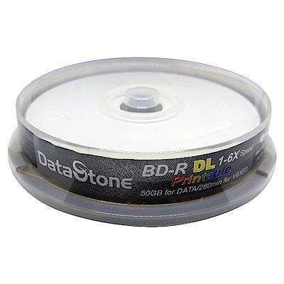 DataStone 藍光 6X BD-R DL 50GB 珍珠白滿版 可印片 (30片)