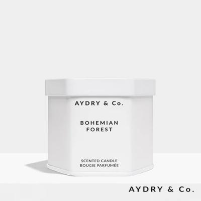 美國 AYDRY & CO. 波希米亞森林 天然手工香氛 極簡純白錫罐 99g
