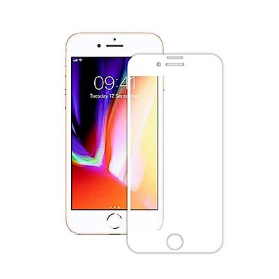 TEKQ iPhone7/8 康寧3D滿版9H鋼化玻璃4.7吋螢幕保護貼-白