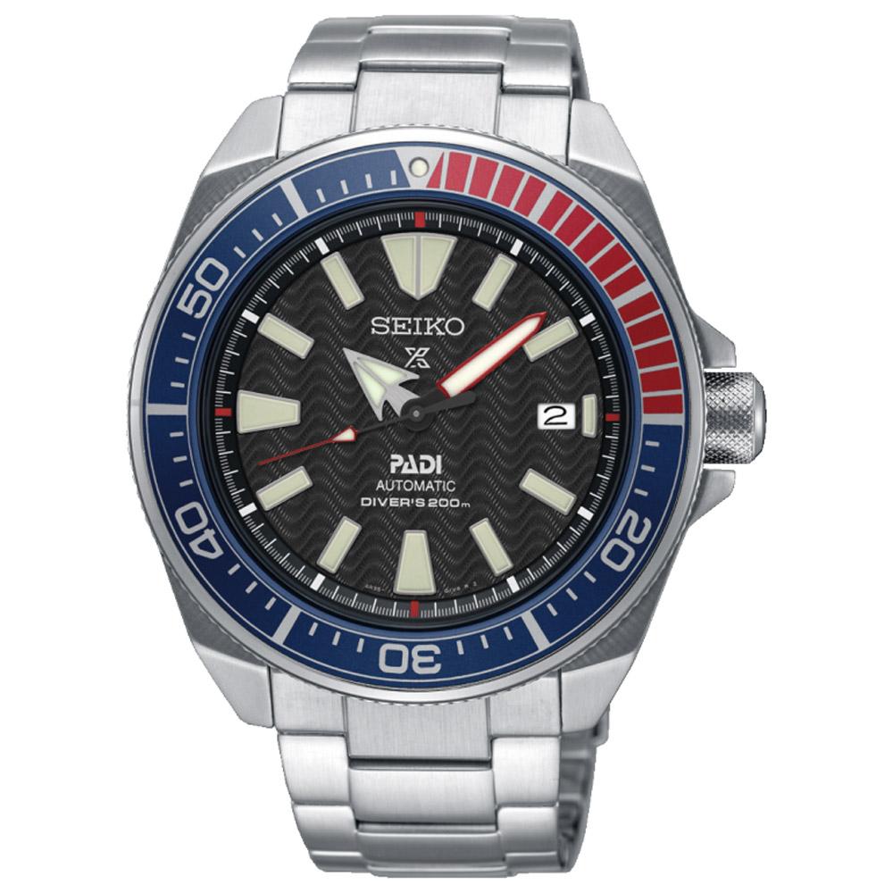SEIKO精工Prospex PADI可樂武士限量潛水機械錶(SRPB99J1)