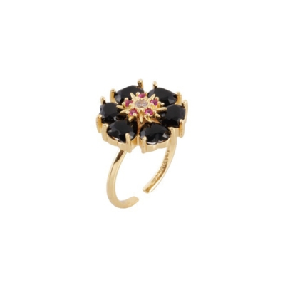 NOONOO FINGERS BLACK HOLE RING 戒指