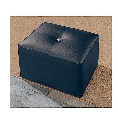 LOVE樂芙-黑色方凳-寬35深27高29公分