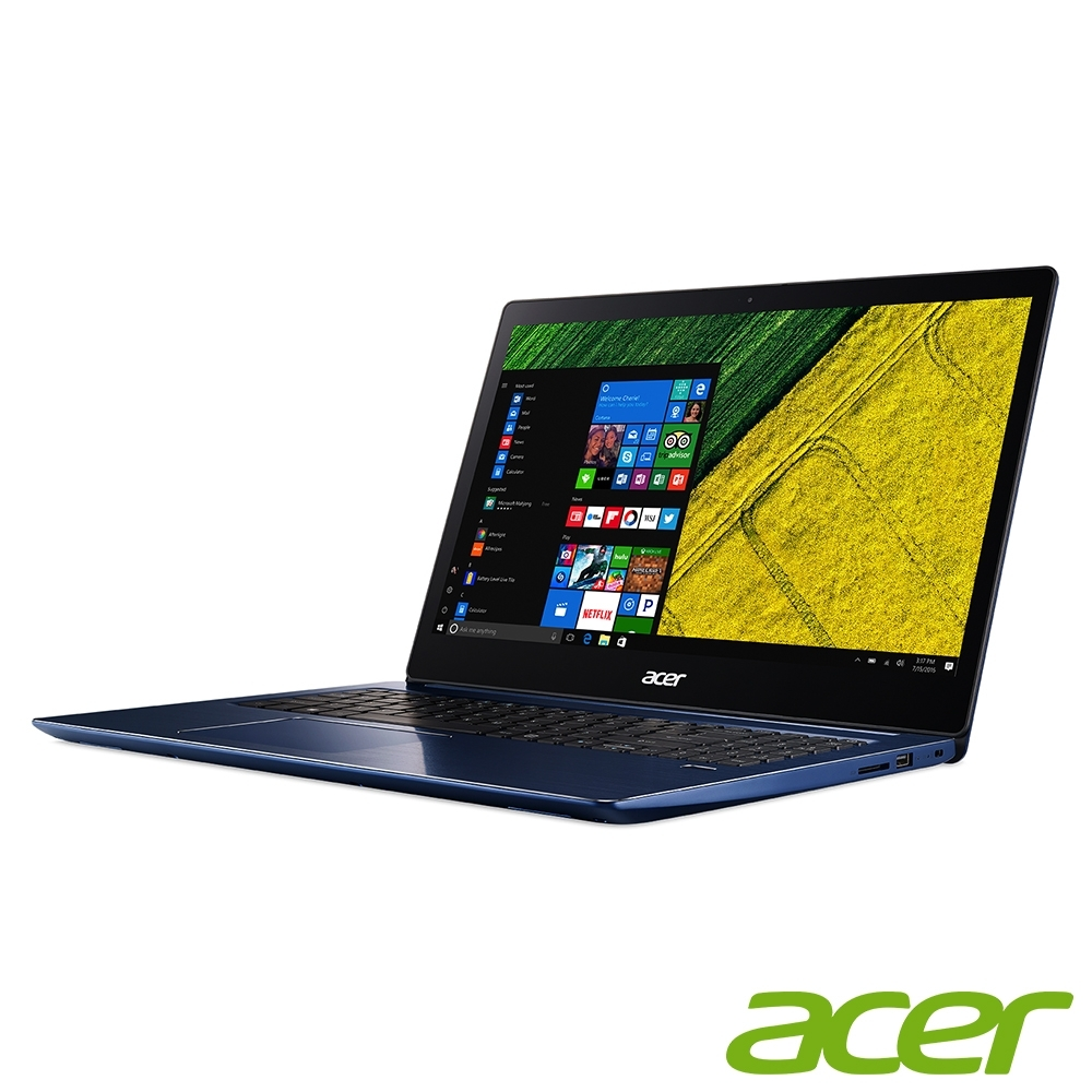 Acer SF315-51G-51K8 15吋筆電(i5-8250U/MX150/8G/1TB/Swift 3/藍) product image 1