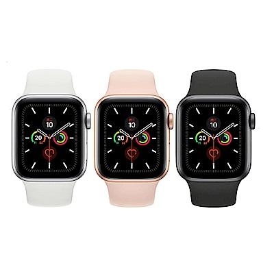[時時樂] Apple Watch S5 GPS版 44mm 鋁錶殼配運動錶帶
