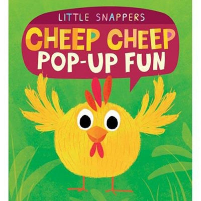 Cheep Cheep Pop-Up Fun 猜猜我是誰 厚紙立體書