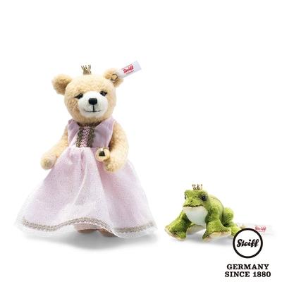 STEIFF德國金耳釦泰迪熊   Frog Prince Set   青蛙王子 (限量版)