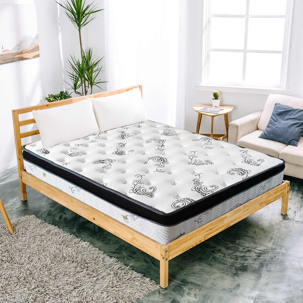 AVIS 艾維斯 霍莉超厚度3D透氣舒柔布三線獨立桶床墊-單人3.5尺