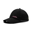 PUMA-女性流行系列棒球帽-黑色