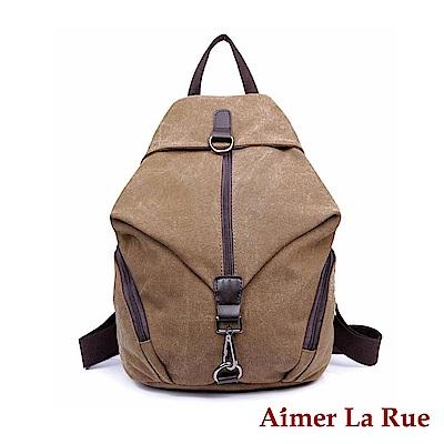Aimer La Rue 後背包 金字塔帆布系列(四色)