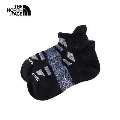 The North Face北面男女款黑色美麗諾羊毛運動短襪|3CNNKD6