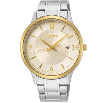 SEIKO 精工 CS 50 周年紀念款 紳仕石英手錶(SGEH92P1)