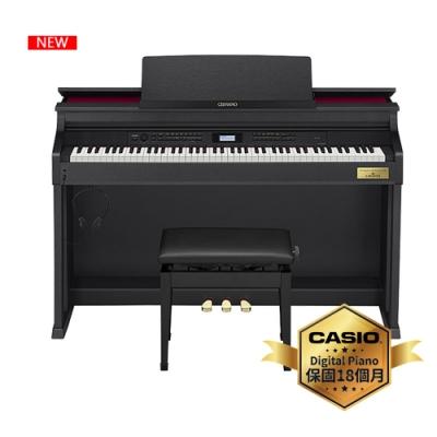 [時時樂限定]CASIO卡西歐原廠CELVIANO頂級音質數位鋼琴AP-710BK