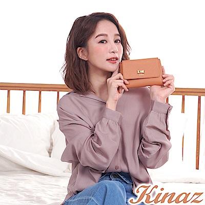 KINAZ 美好心動三折中夾-蜜桃甜粉-甜蜜禮盒系列