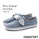 HANNFORT CALIFORNIA金沙扭結丹寧休閒鞋-女-藍(8H) product thumbnail 1
