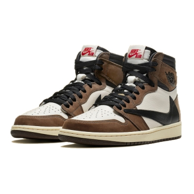 Nike Jordan 1 High Travis Scott 倒勾 CD4487-100