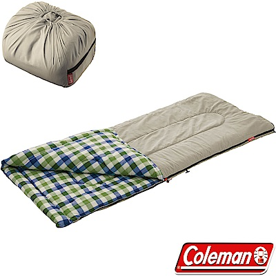 Coleman 33803沙漠石 EZ刷毛睡袋 適溫5度戶外睡蛋/露營化纖寢袋/保暖毯