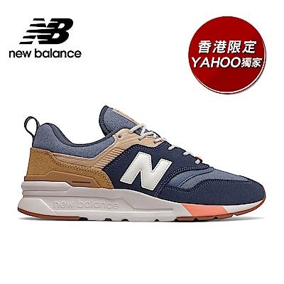 New Balance 997H復古鞋 男性 藍色 CM997HAK-D