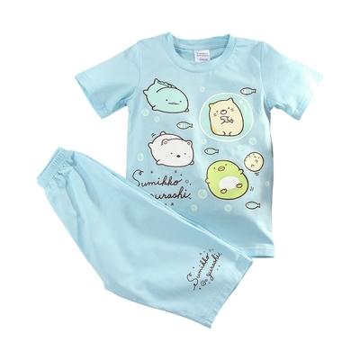 魔法Baby ~男童裝 角落小夥伴授權正版短袖舒柔彈性睡衣套裝 k51771