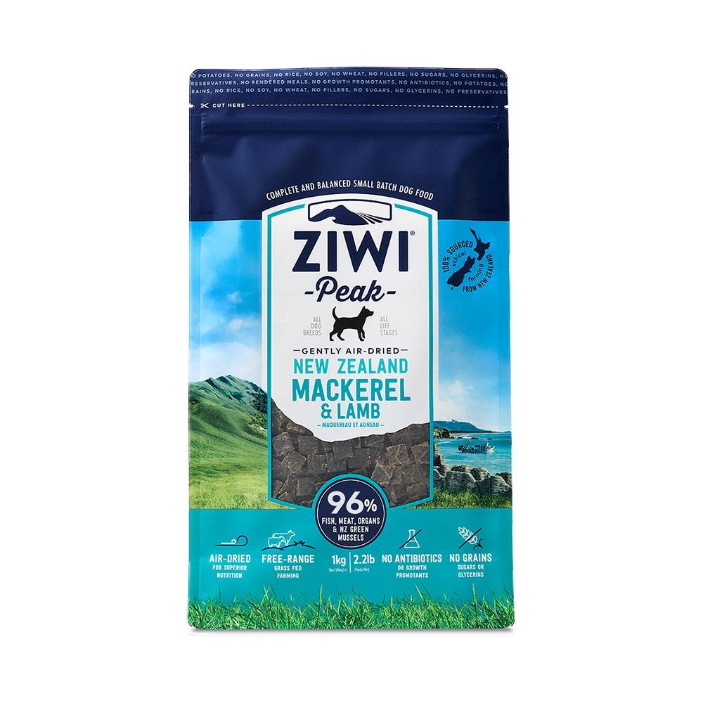 ZiwiPeak巔峰 96%鮮肉狗 鯖魚羊肉 1KG