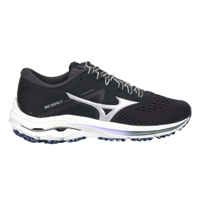 MIZUNO WAVE INSPIRE 17 女慢跑鞋-路跑 避震 美津濃 J1GD214493 深灰紫