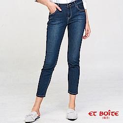 ETBOITE 箱子 BLUE WAY 一片式男友風牛仔褲