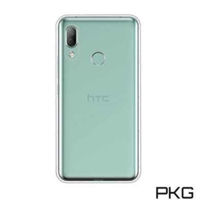 PKG HTC Desire 19Plus 高透360空壓氣墊殼