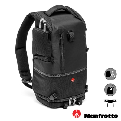 MANFROTTO 曼富圖 Advanced Tri Backpack S 3合1 斜肩後背相機包 (公司貨) 空拍機包 MB MA-BP-TS
