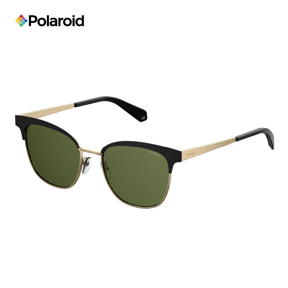 Polaroid PLD 4055/S-復古眉框太陽眼鏡 黑金色 @ Y!購物