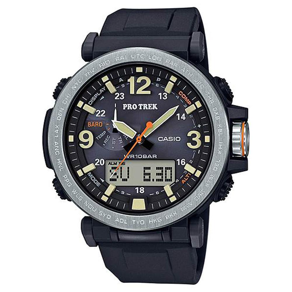 CASIO PRO TREK 堅韌耐低溫全方位活動登山錶(PRG-600-1)