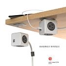 【索樂生活】4面3孔雙USB擴充插座兩用延長線3m荷蘭PowerCube.