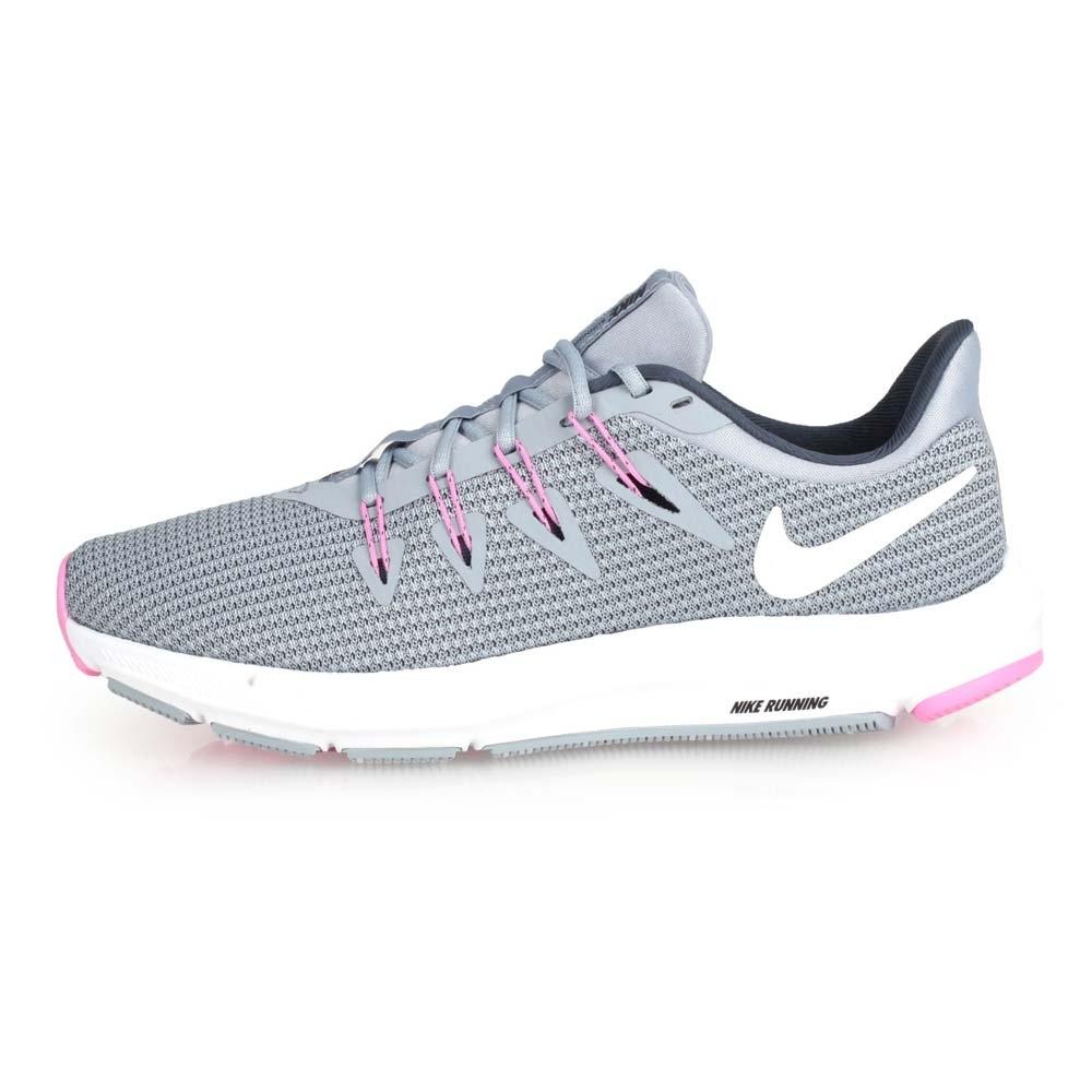 NIKE  QUEST 女慢跑鞋-路跑 灰粉紅 | 慢跑鞋 |