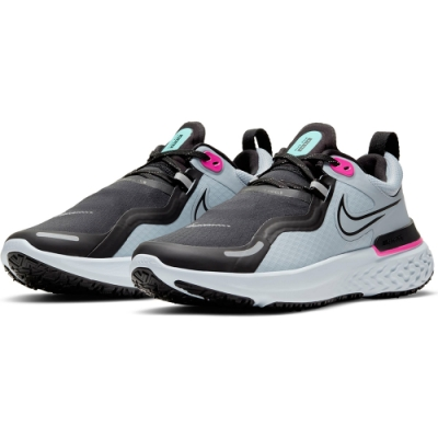NIKE 慢跑鞋  緩震 訓練 運動鞋 女鞋 灰 CQ8249400 WMNS NIKE REACT MILER SHIELD