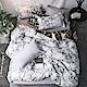 A-ONE 雪紡棉 單人床包/雙人薄被套 三件組 柏林迷蹤 MIT台灣製 product thumbnail 1