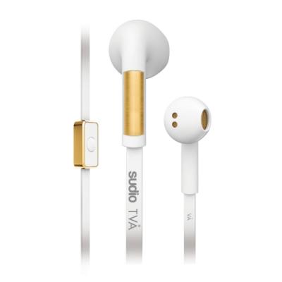瑞典 Sudio Tva 系列耳塞式耳機-白