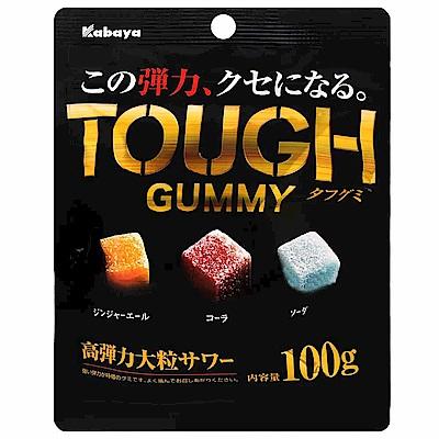 Kabaya TOUGH汽水風味軟糖(100g)