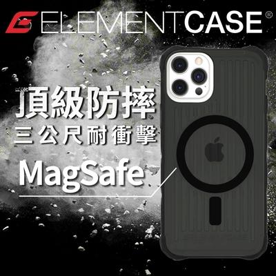 美國 Element Case iPhone 13 Pro Max Special Ops 特種行動軍規防摔殼MagSafe版 - 透黑