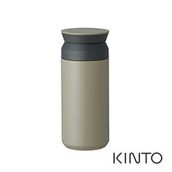 日本KINTO 隨行保溫瓶500ml-灰