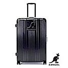 DF travel - 英國袋鼠優雅直線立體髮絲紋鋁框28吋行李箱