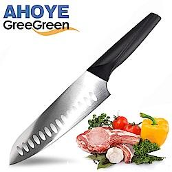 GREEGREEN 簡約柄廚師刀(18cm)