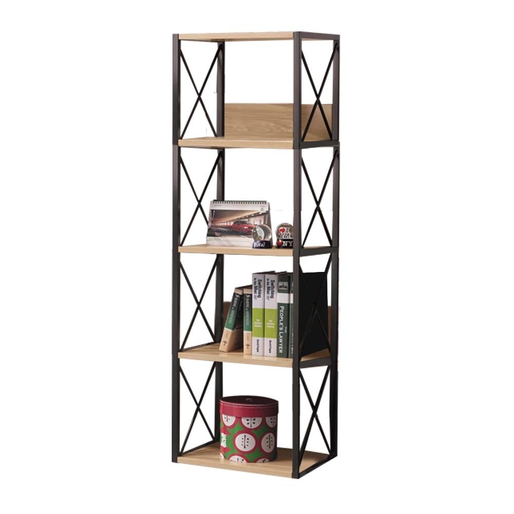 文創集 湯米現代1.3尺開放式高書架/收納架-40x35x143cm免組