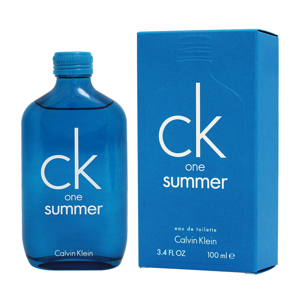 CK ONE SUMMER 2018 中性淡香水100ml