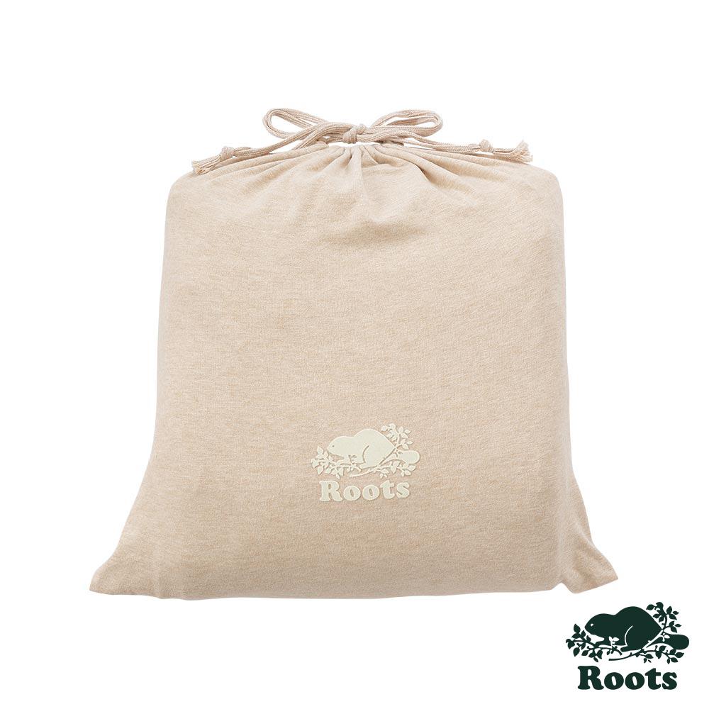ROOTS有機棉雙人加大床包-卡其 product image 1